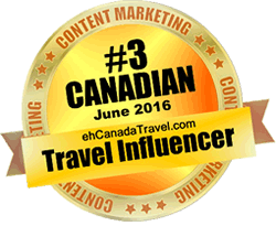 eh Canada Travel - #3 Top Influencer for March 2016