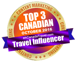 eh Canada Travel - #3 Top Influencer for October 2016